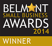 Award: Belmont Small Business Awards 2014 Winner