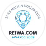 Award: REIWA.com 21-25 Million Dollar Club 2009