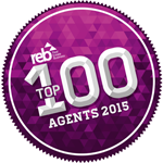 Award: REB Top 100 Agents 2015