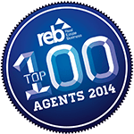 Award: REB Top 100 Agents 2014